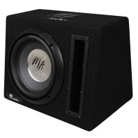 "MA Audio - 10"" Subwoofer box con Amplificador"