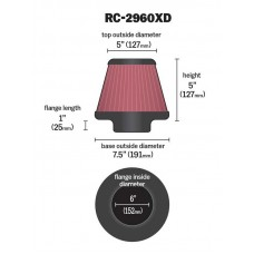 RC-2960 FILTRO K&N