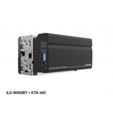 EQUIPO MULTIMEDIA ALPINE iLX-650 Y KTA-450