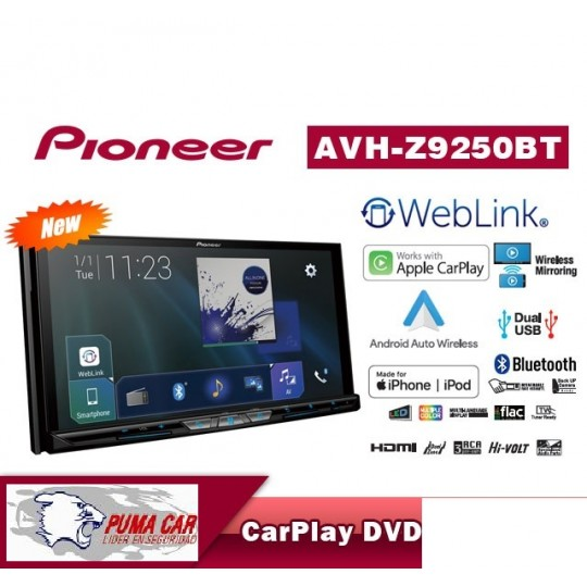 AVH-Z9250BT MULTIMEDIA PIONEER